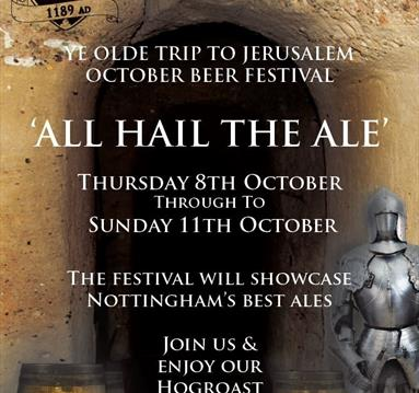 All Hail The Ale - October Beer Festival