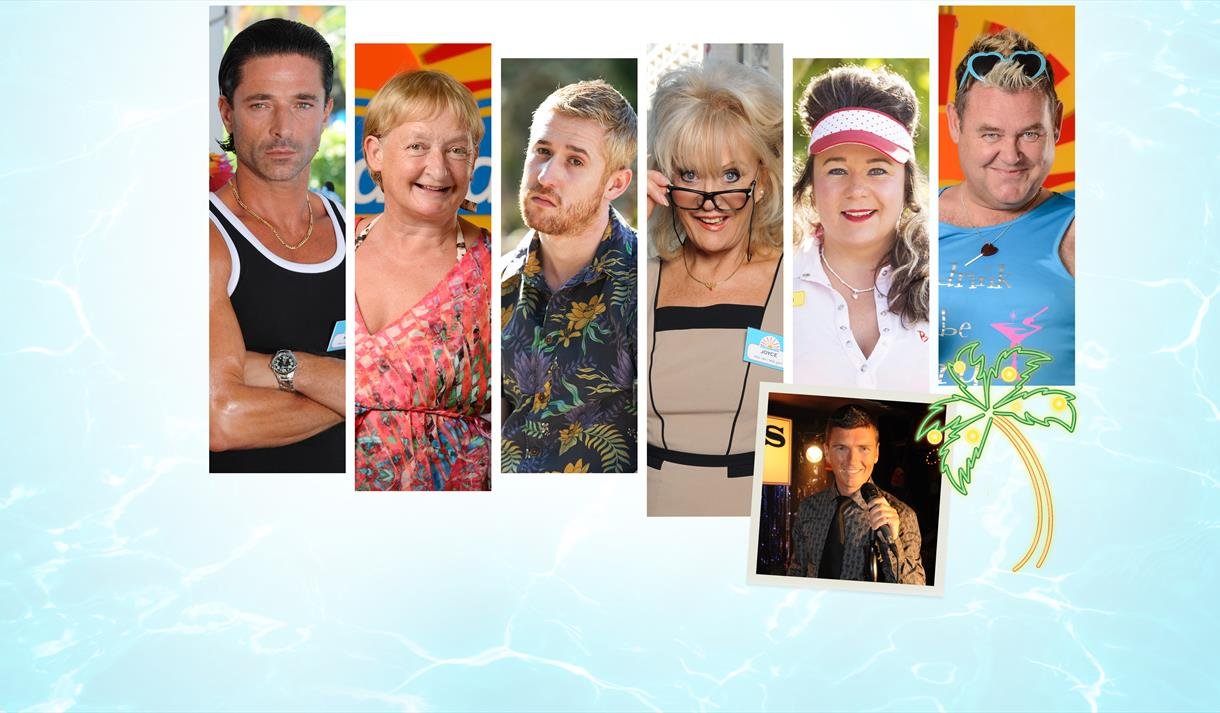 An image of the Benidorm cast
