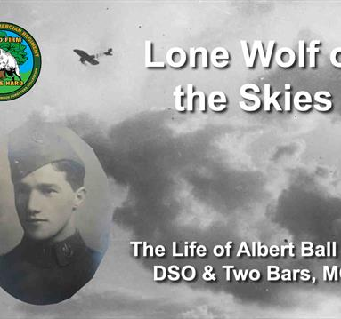 Lone Wolf of the Skies: The Life of Albert Ball VC, DSO & Two Bars, MC