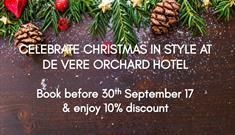 Christmas at De Vere Orchard Hotel