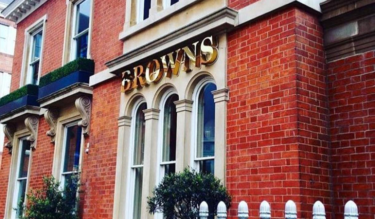 Browns Bar & Brasserie, Nottingham