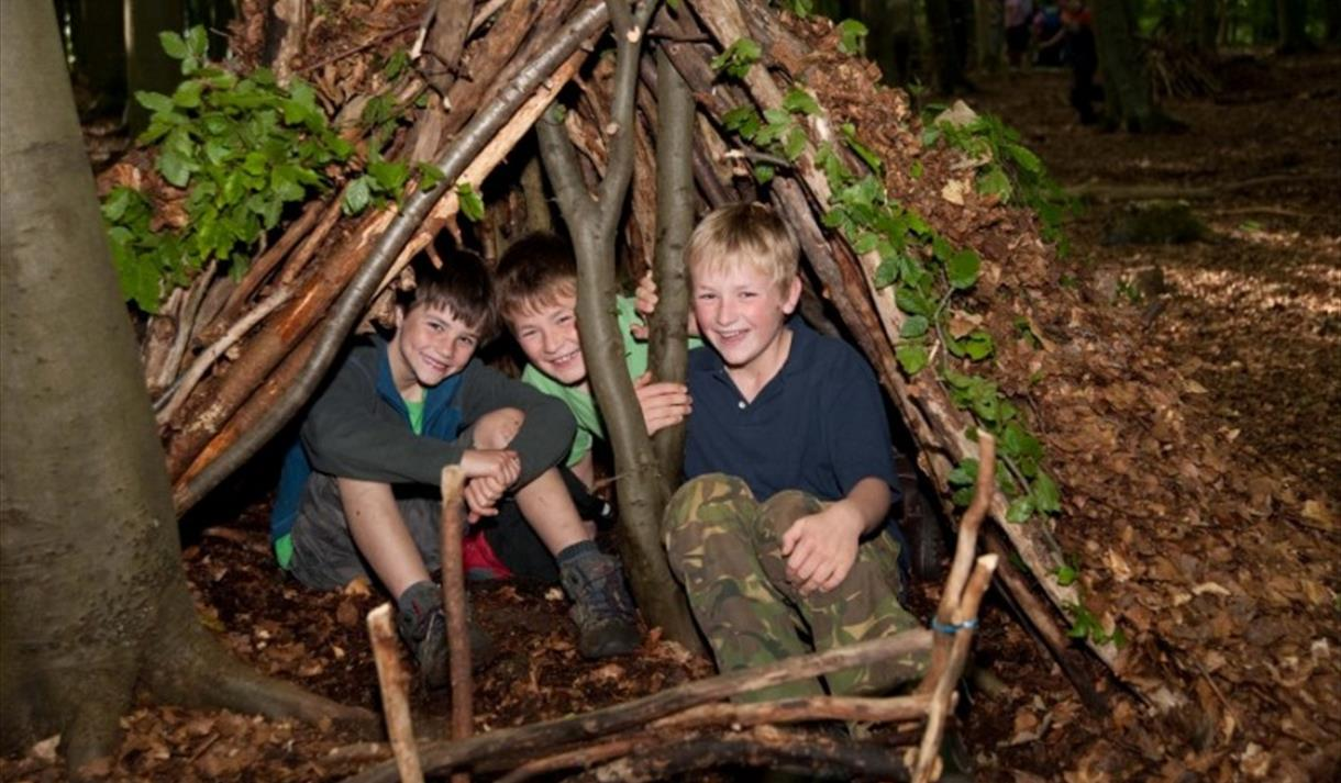 Bushcraft for Families at Sherwood Pines in Nottinghamshire