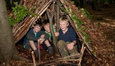 Bushcraft for Families at Sherwood Pines