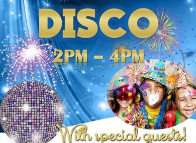 Big Tops New Year's Eve Disco Party