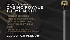 Casino Royale Theme Night