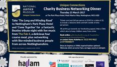 Unique Connections Charity Business Networking Dinner