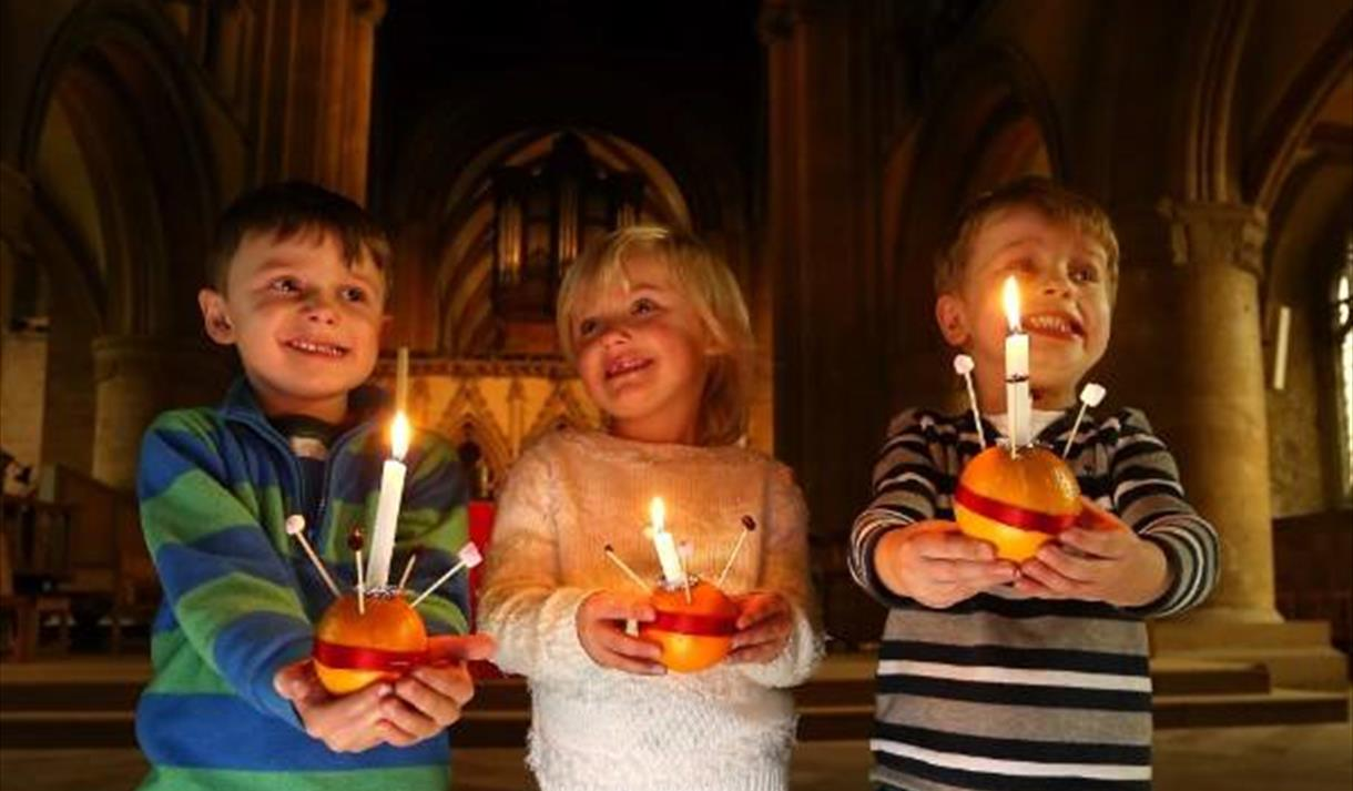 Christingle Service at Southwell Minster