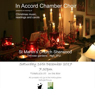 In Accord Chamber Choir Presents An Evening of Christmas Music, Readings and Carols