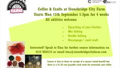 Coffee and Crafts at Stonebridge City Farm