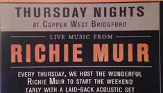 Live Music from Richie Muir at Copper