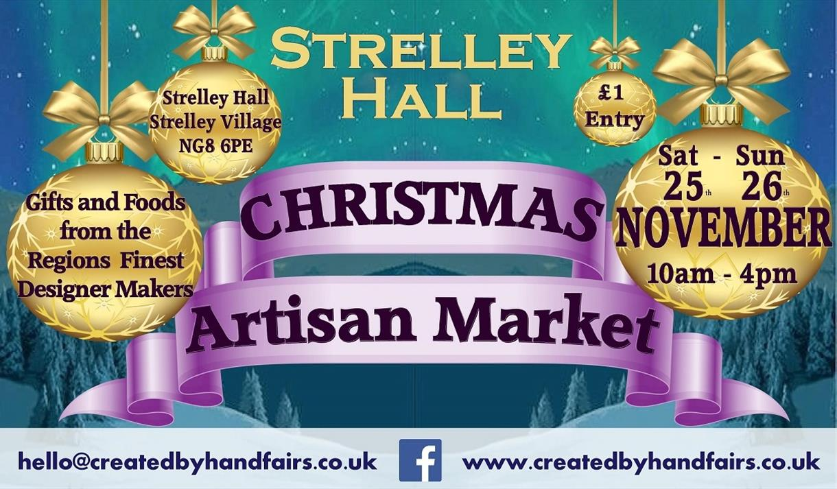 Strelley Hall Christmas Artisan Market