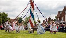 Wellow Maypole Celebrations 2017