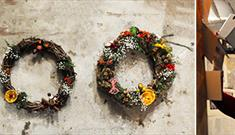 Crafternoon: Festive Wreath, £45