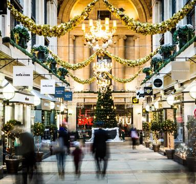 Exchange Arcade Christmas | Visit Nottinghamshire
