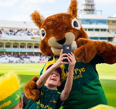 Family Fun Day at Nottinghamshire County Cricket Club, Trent Bridge, Nottingham