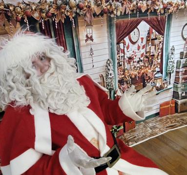 Father Christmas' Grotto at the D.H. Lawrence Birthplace Museum
