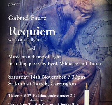Sinfonia Chorale presents Faurés Requiem