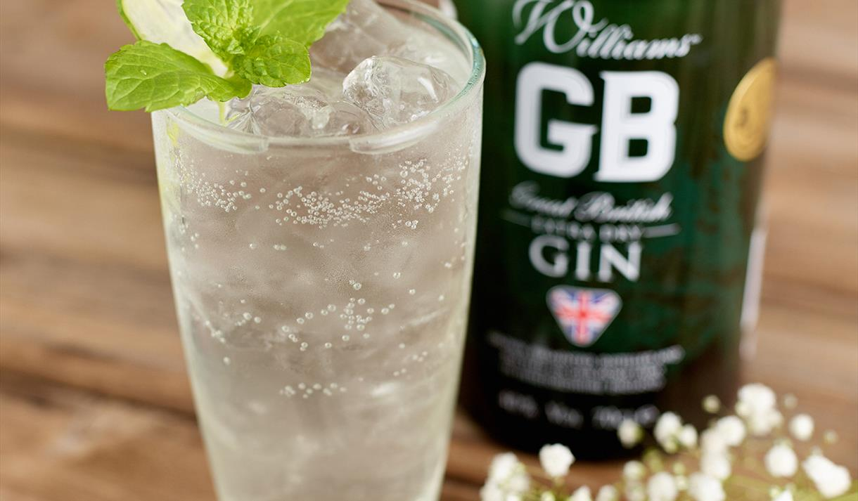 William Chase's GB Gin Tasting at George's Great British Kitchen