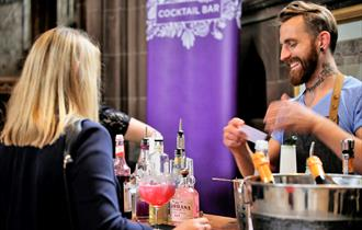 The Gin Society Festival at St Mary's Church Nottingham