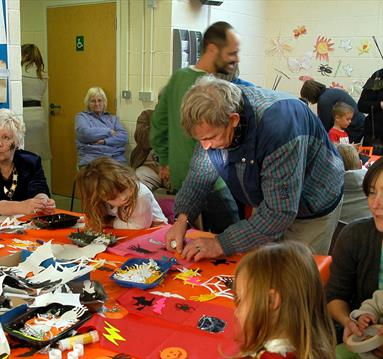 Halloween Arts and Crafts in Arnold