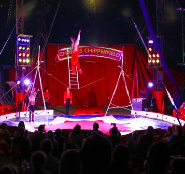 The Greatest Circus at Robin Hood's Wheelgate Park, Nottinghamshire