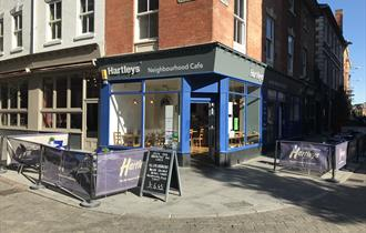 Hartleys Coffee & Sandwich Bar, Nottingham