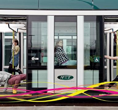 Sacha Copland in Collaboration with eNGine Collective: Jam on a Tram