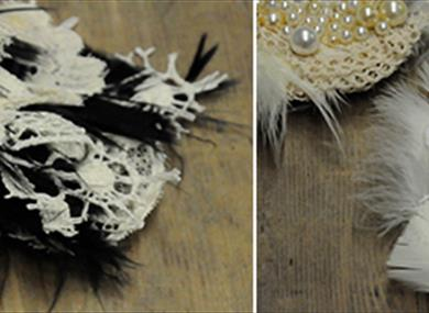 Crafternoon: Lace Appliqué Fascinator, £35
