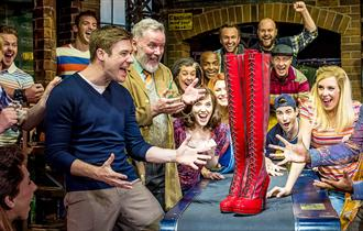A still from Kinky Boots