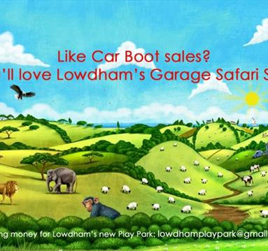 Lowdham Garage Safari Sale