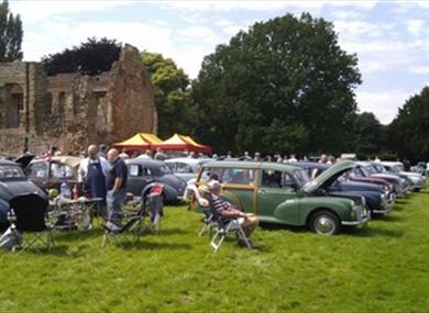 """Monks & Minors"" Mansfield Morris Minor Owners Club Annual Rally at Rufford Abbey"