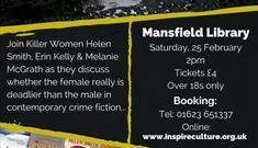 Killer Women - Mansfield Central Library