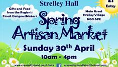 Spring Artisan Market at Strelley Hall