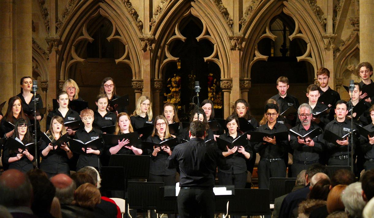 Live at Lunch: Carol Concert with NTU Chamber Choir | Visit Nottinghamshire