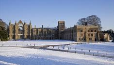 Lord Byron's Newstead Abbey at Christmas - Light & Line Photography Course