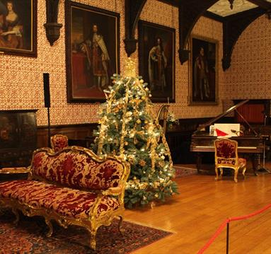 Christmas at Newstead Abbey House Tour