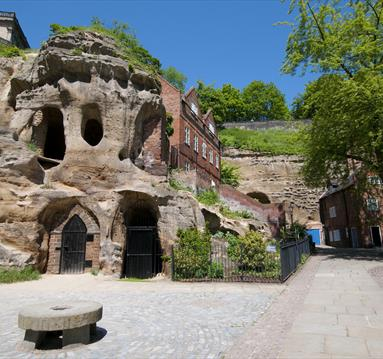 The Sandstone Caves of Nottingham - a lecture by Tony Waltham at Cave City: Nottingham Underground Festival