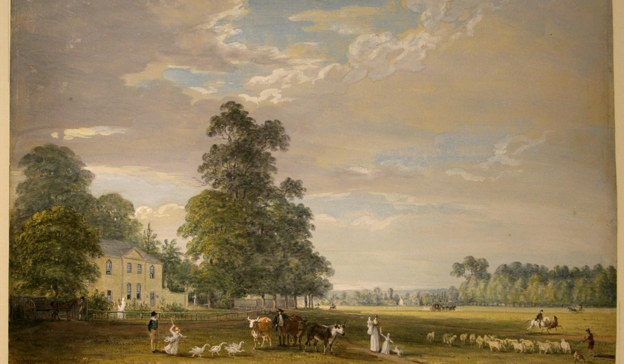 Harmonising Landscapes at Newstead Abbey - Paul Sandby Exhibition