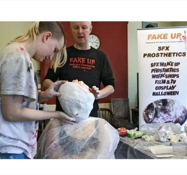 Prosthetic Workshop with Fake Up at The Malt Cross