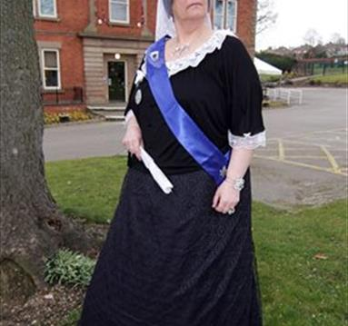 Queen Victoria at D.H.Lawrence Heritage