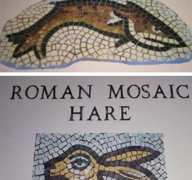 Roman themed mosaics | Hanwell Wine Estate Workshops | Visit Nottinghamshire