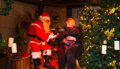 Santa's Grotto at Rufford Abbey Country Park
