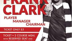 An evening with Frank Clark at The Southbank Bar West Bridgford
