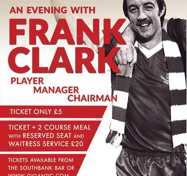 An Audience With Frank Clark at The Southbank Bar West Bridgford