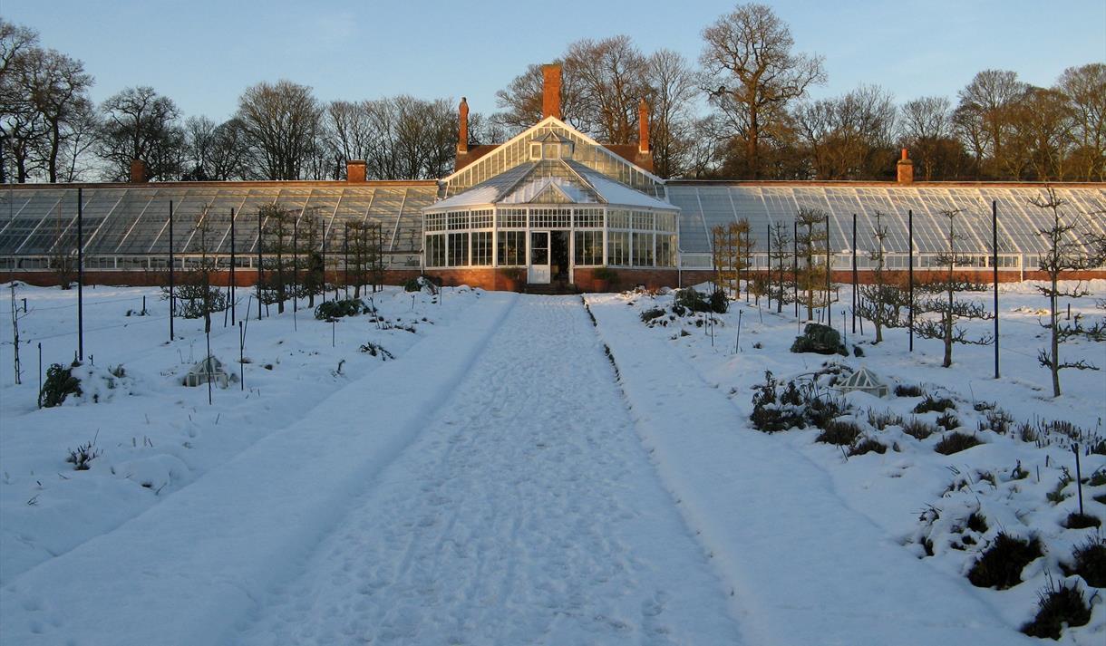 christmas at clumber park visit nottinghamshire. Black Bedroom Furniture Sets. Home Design Ideas