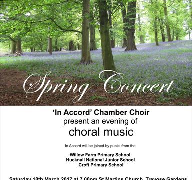 Spring Concert with In Accord Chamber Choir