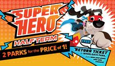 Superhero Half Term at Twinlakes