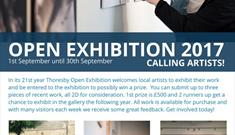 Call for Artists for Thoresby Gallery's 21st Open Exhibition
