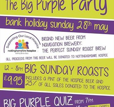 The Big Purple Party at The Trent Navigation