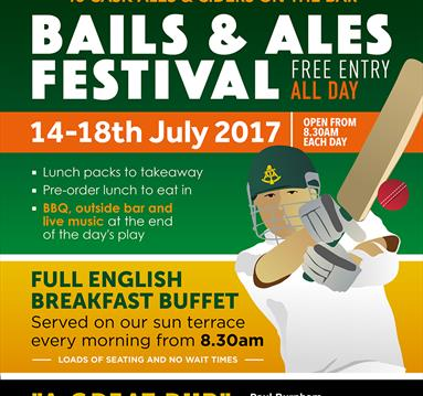 Bails and Ales Festival at The Trent Navigation